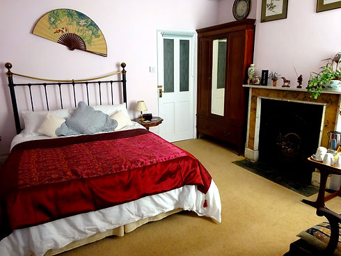 The Oriental Room double room at Hornton Grounds Bed and Breakfast Oxfordshire