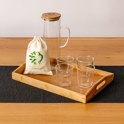 FeStevia Jug and Glasses Set