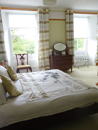 Jade View double room at Hornton Grounds Bed and Breakfast