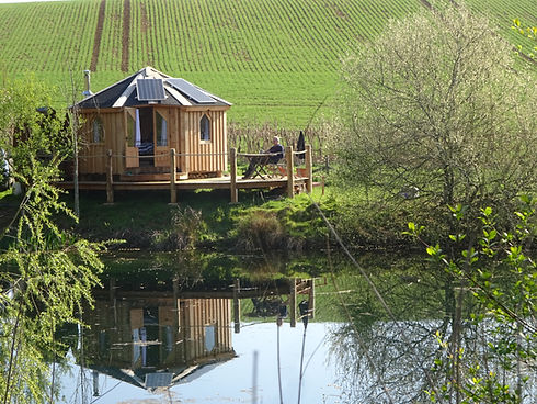La Retraite glamping pod Hornton Grounds Bed and Breakfast Oxfordshire