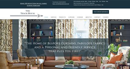 Webworks Studio Portfolio Homepage Image Trackhouse