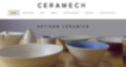 Webworks Studio Portfolio Homepage image for CERAMECH