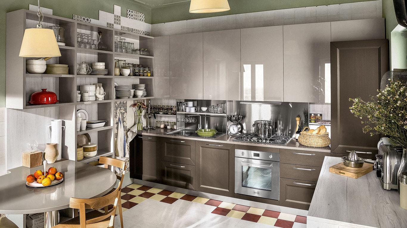 Veneta Cucine Modello Greta.Cucine Azzurrocucine