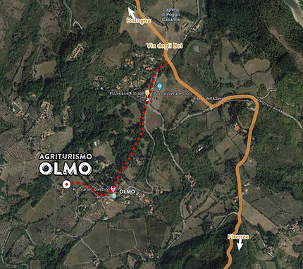 Mappa Via degli Dei 02 dettaglio olmo.jp