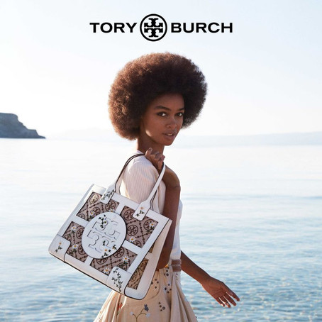 Mikael Jansson para Tory Burch S/S 21 Campaign