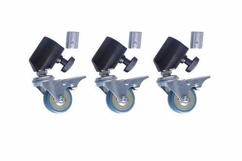 Set de ruedas para parantes Mircopro