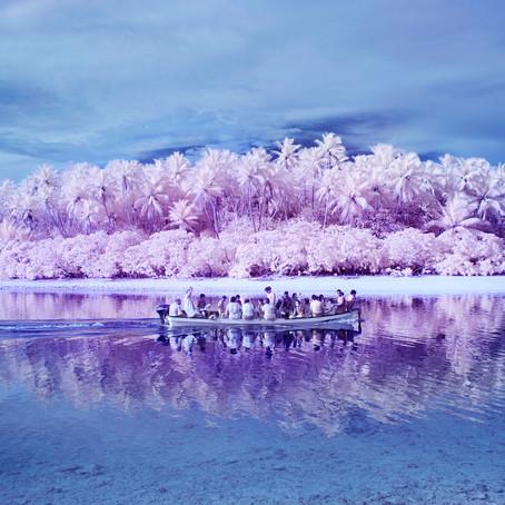 El viaje infrarrojo de un fotógrafo a la isla de los daltónicos