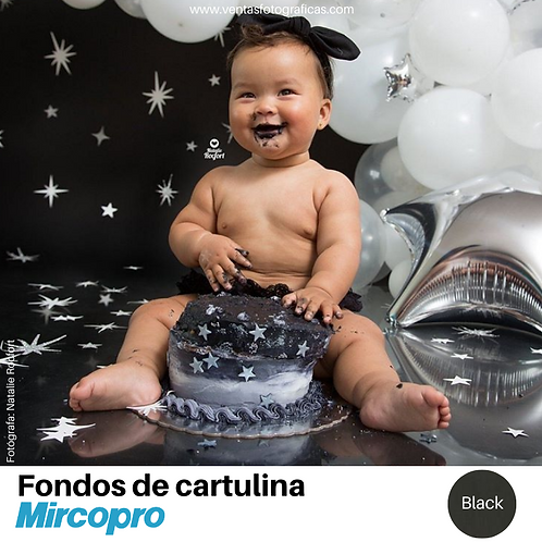 Fondo de Cartulina BLACK