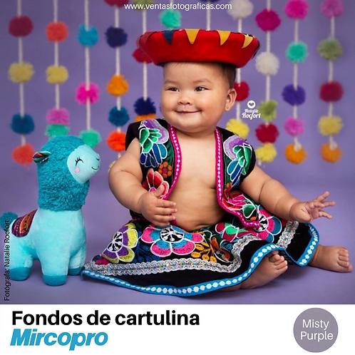 Fondo de Cartulina MISTY PURPLE