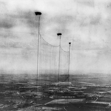 Los globos de observación militar de la Primera Guerra Mundial