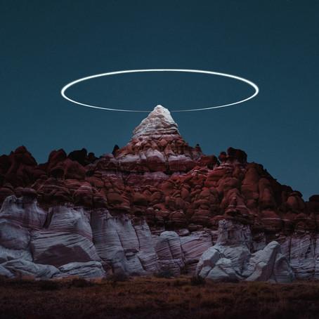 Los senderos de luz de los drones de Reuben Wu