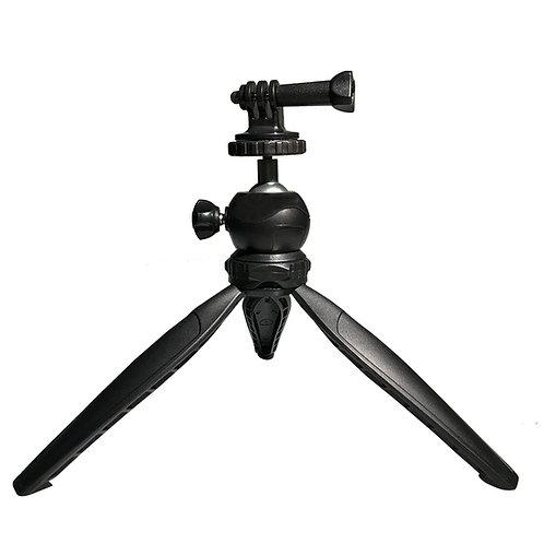 Mini trípode + adaptador para GoPro