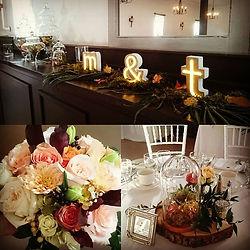 Arrangements floraux pour mariage,montage dcécoration, coordination mariage