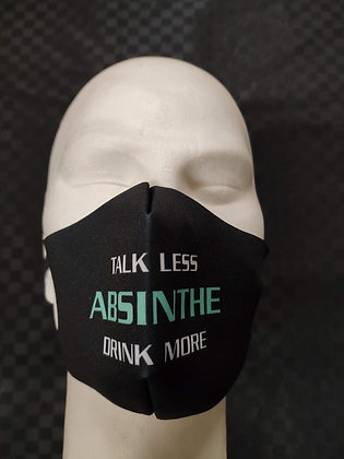 Mask Talk less Drink more