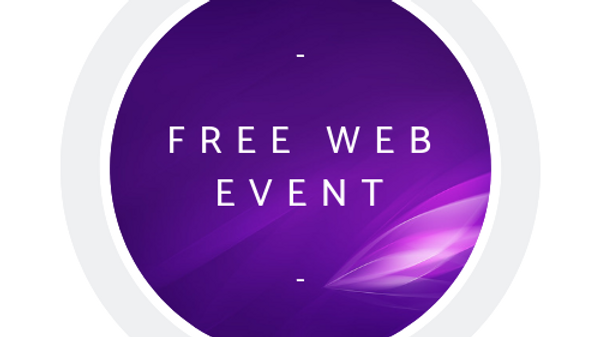 """""""Stepping Into The New"""" - Free Web Event"""