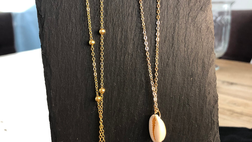 Shell necklace - two styles