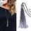 Thumbnail: Long Tassel Necklace