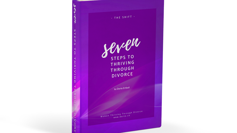 """Seven Steps to Thriving Through Divorce"" (life manual, 25 pages)"