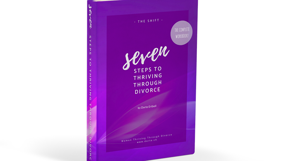 """Seven Steps to Thriving Through Divorce"" (with exercises & tools, 62 pages)"