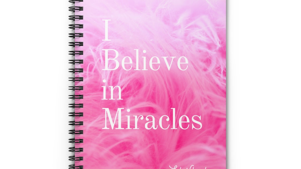 Miracles Maker's Spiral Notebook - Ruled Line