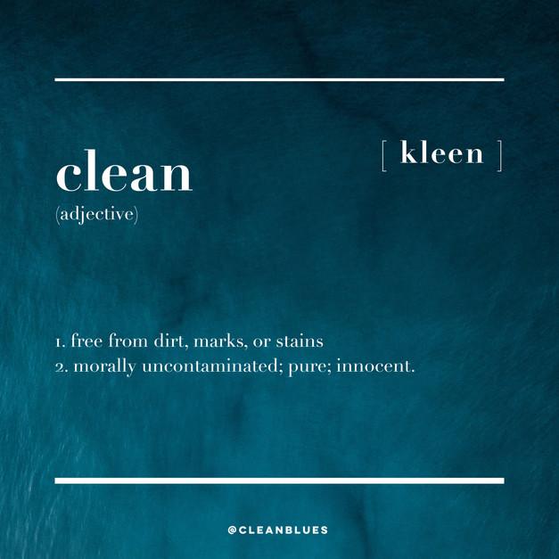 Clean Blues Insta Content