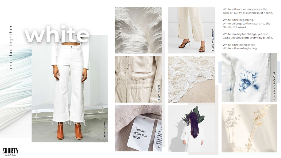 white fashion mood