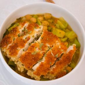 Vegan Katsu Curry Noodle Soup