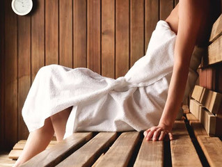 Why Sweat? Today I experienced an Infrared Sauna