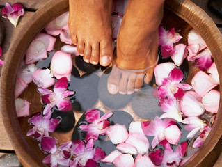 Here's My Go-To Foot Soak For Self-Care