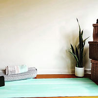 YOUR HOME YOGA SANCTUARY ~ I've decided
