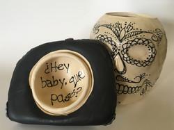 Hey Baby- under hat view