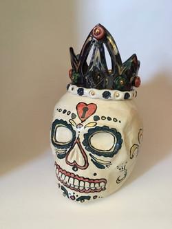 Queen of Hearts Cookie jar