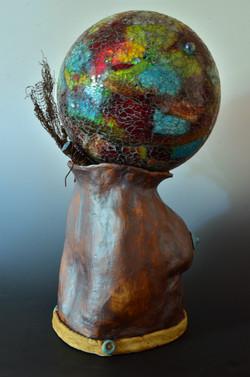 Global Woman(back view)