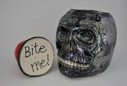 William Tell Skull- lid view