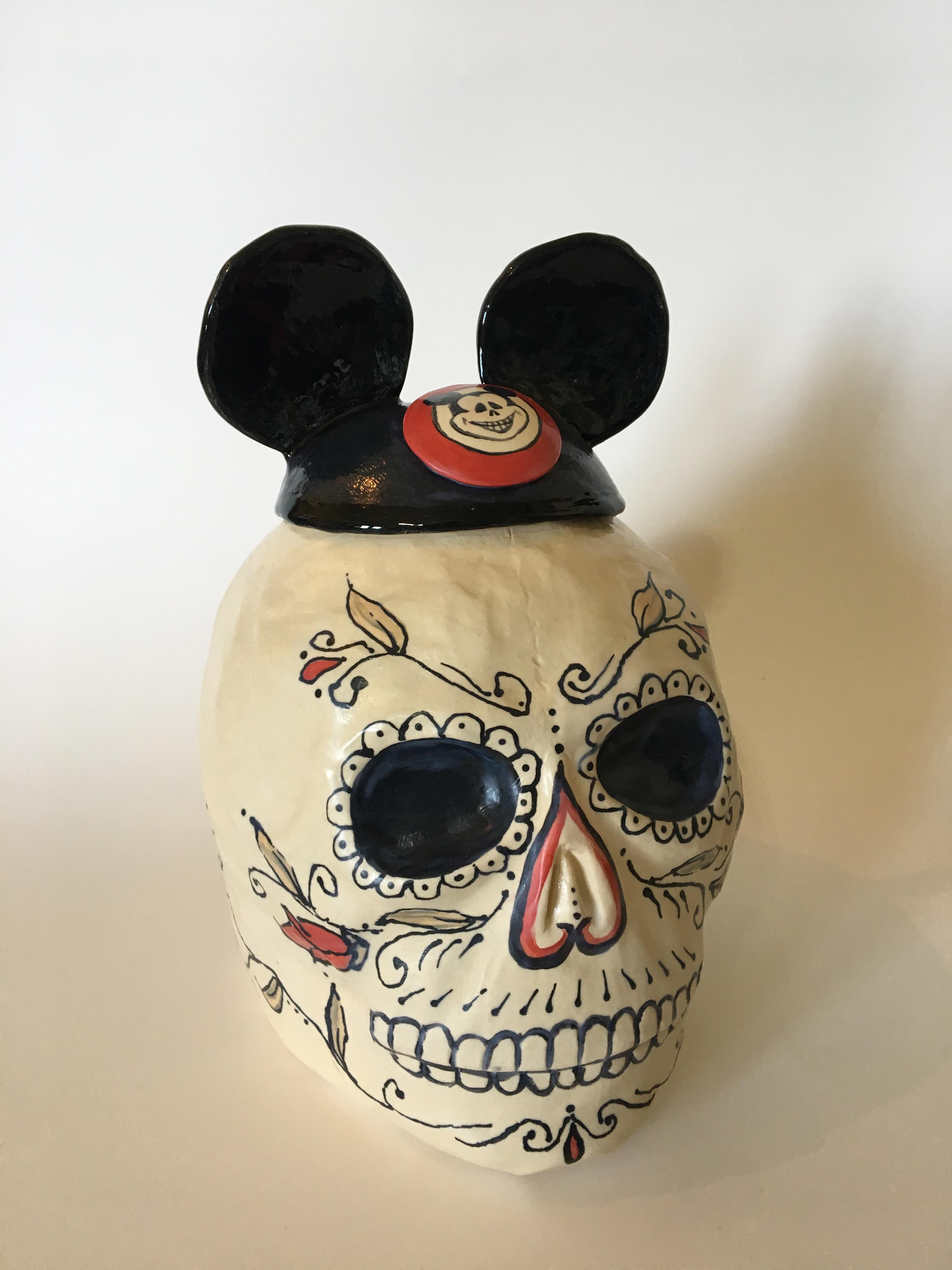 Mickey Skull #3-1
