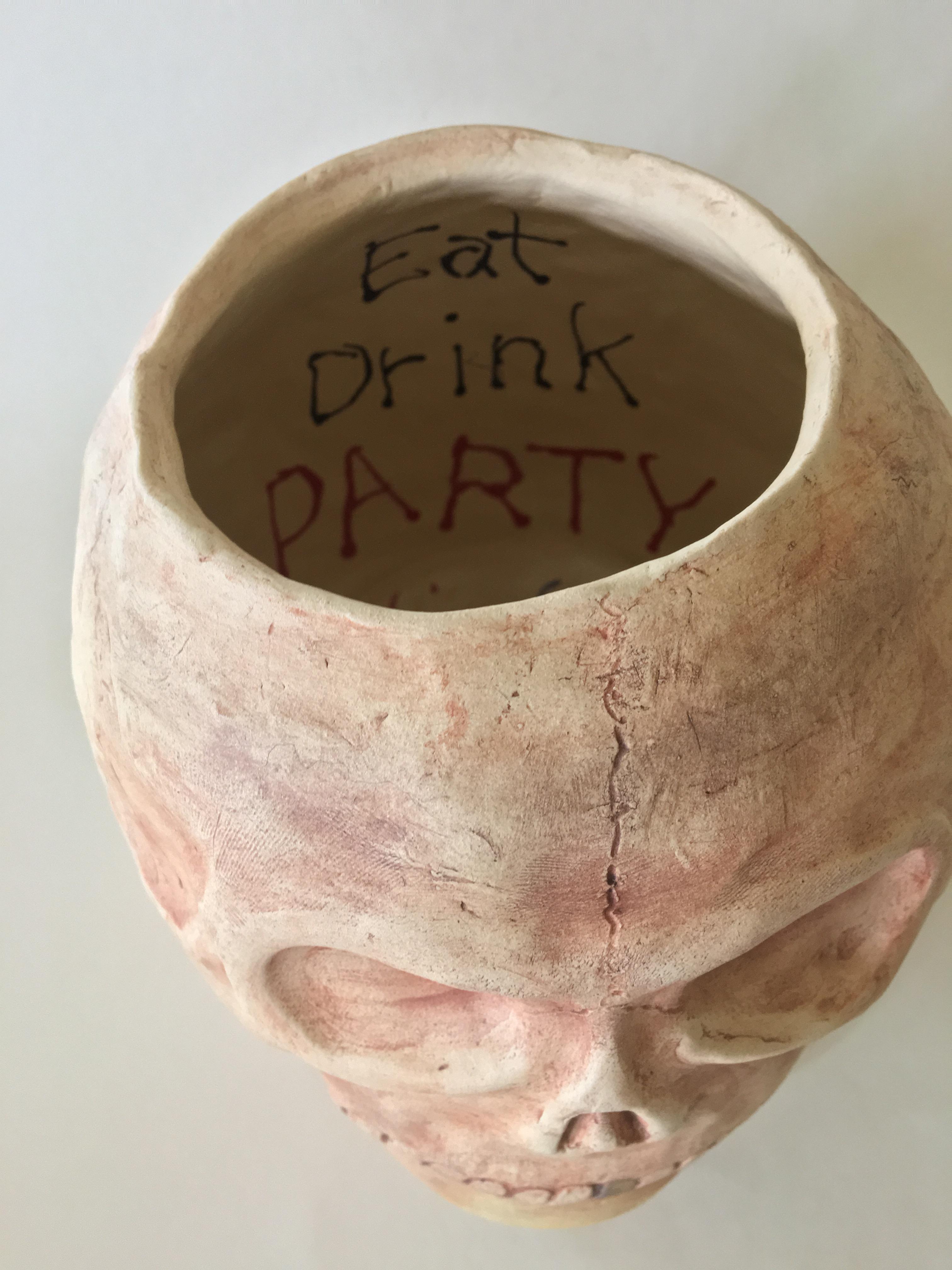 Party Skull #1- interior