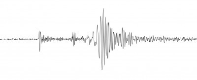 An Oscilloscope showing a shockwave from an earthquake.