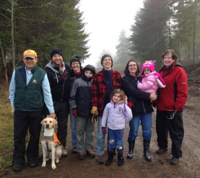 Most of our tree farm family.