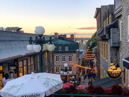 Quebec City- Labor Day Weekend 2019