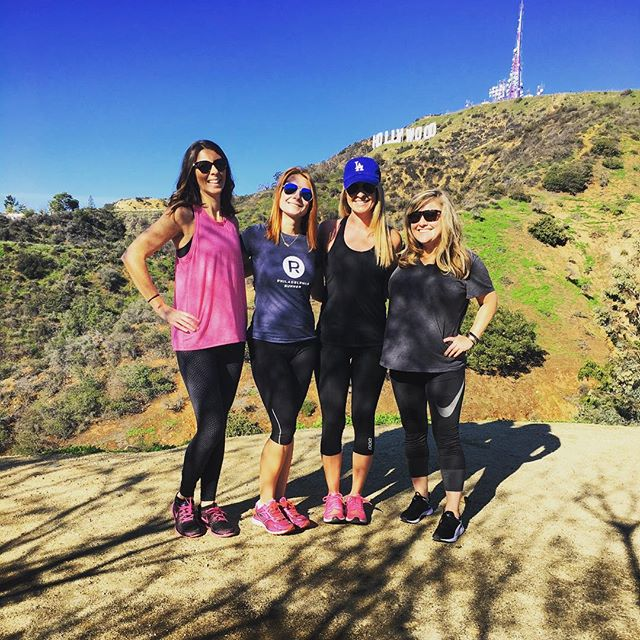 Hikes in the Hollywood hills