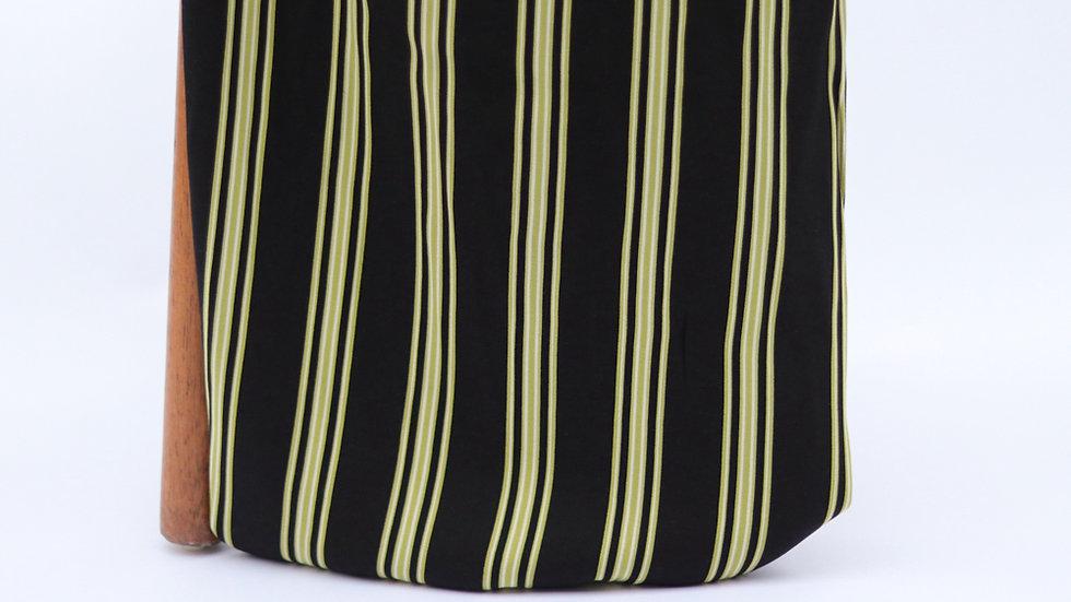 Vangogh Print Stripes Black