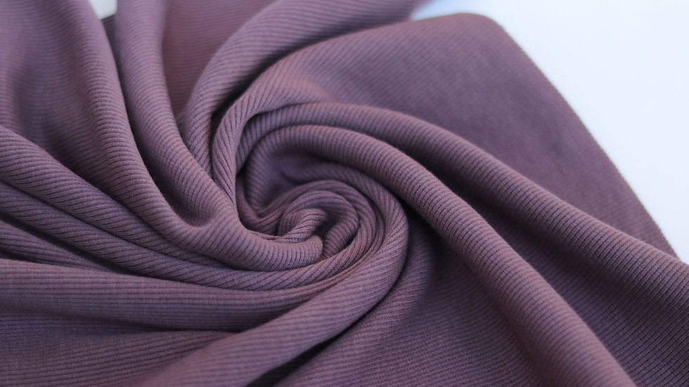 Cloud Ribbing Mauve