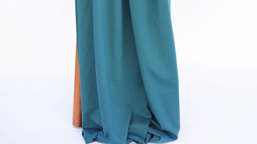 Ponte Knit Blue Coral