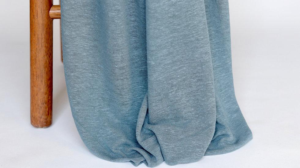 Linen Rayon Knit Ocean
