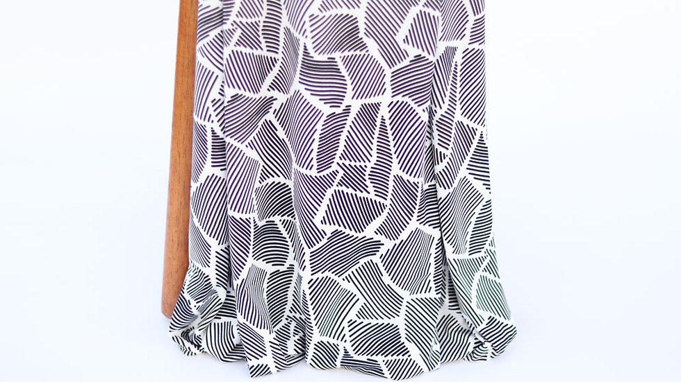 Brazil Print Knit White
