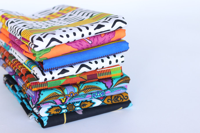Woven African Prints