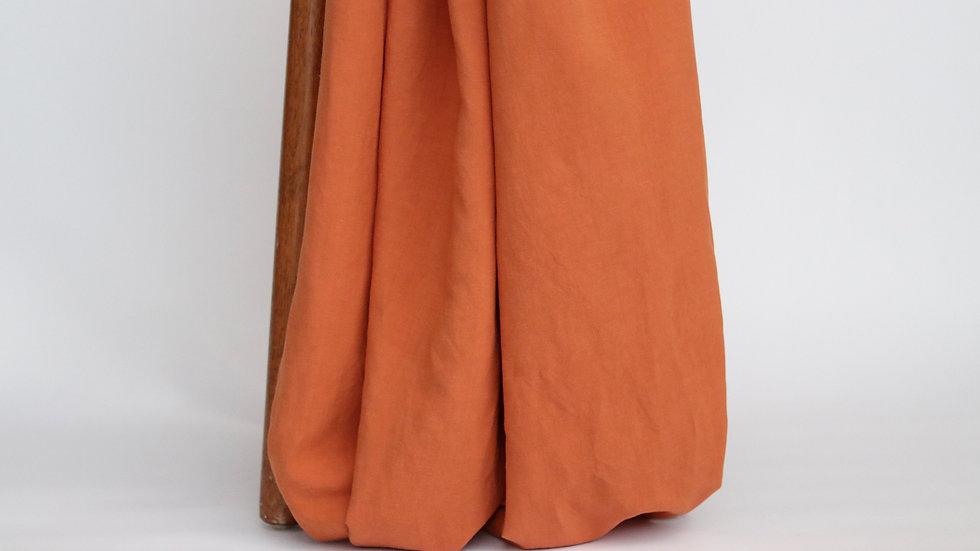 Bizet Linen Burnt Orange