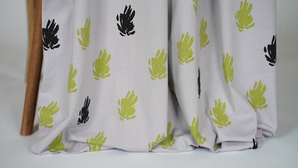 Mimi G Knit Flora Grey/Green