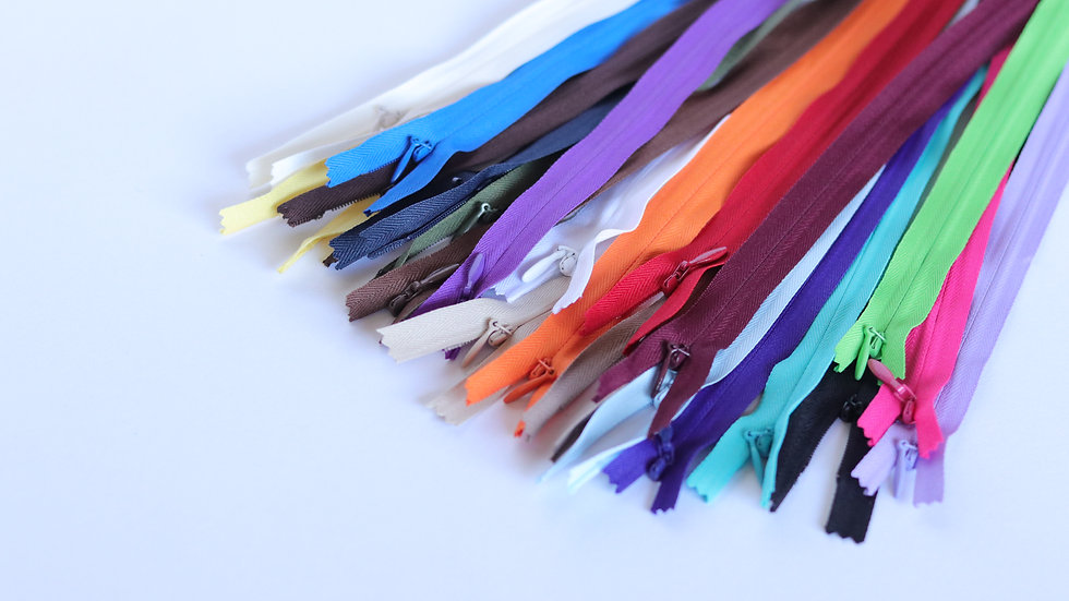 "14"" Invisible Zippers Colors 15-24"