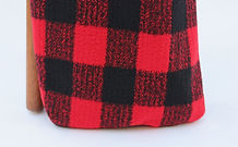 Addison Plaid Red Black